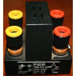 Однозначная мера электрического сопротивления Р3030